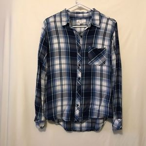 at last classics Tops - alc Plaid Shirt